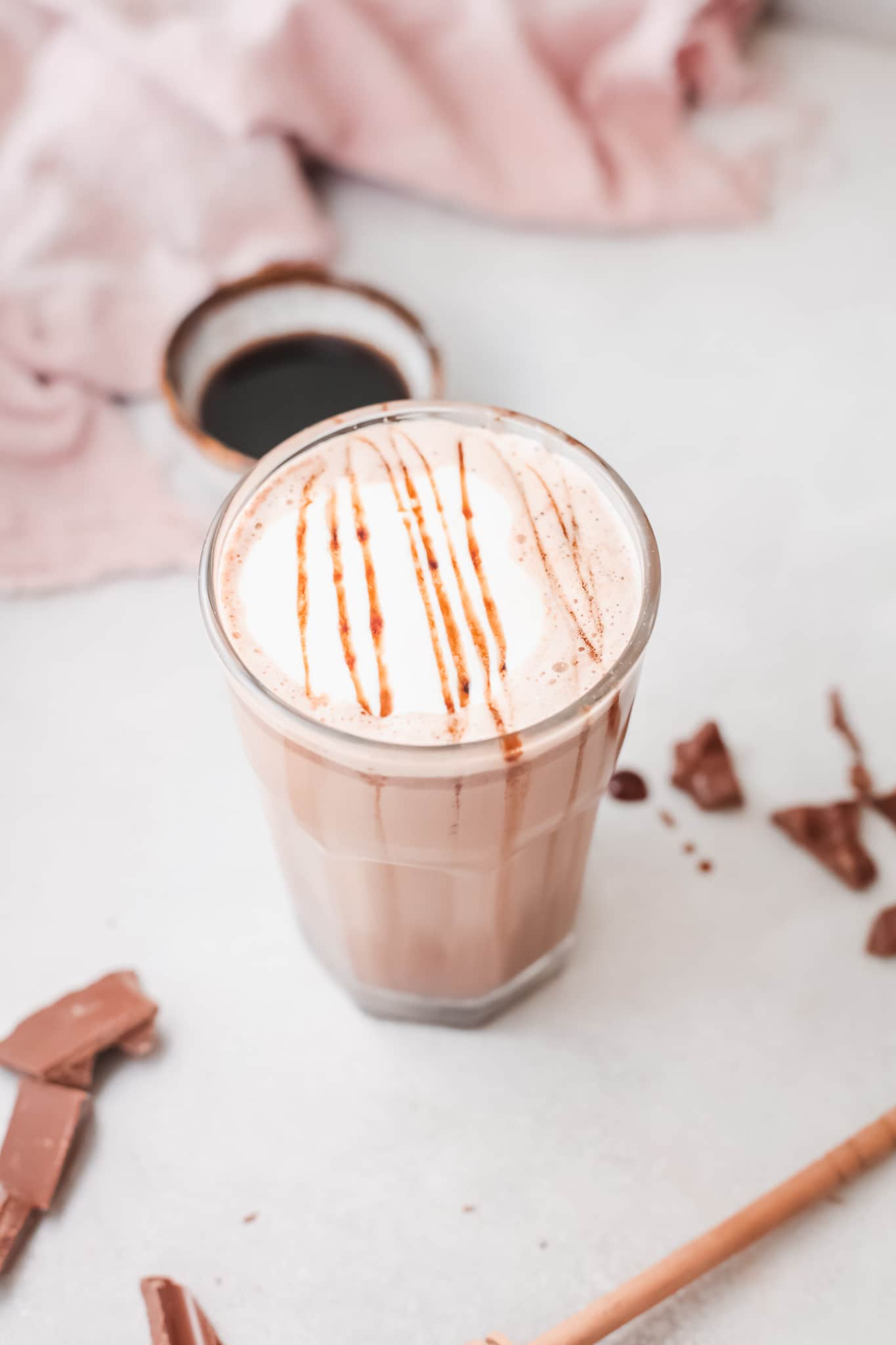 Instant Pot Salted Caramel Hot Chocolate Topping. Silky smooth, creamy and decadent, this Instant Pot Salted Caramel Hot Chocolate is an instant family favorite. Made in either the Instant Pot or Slow Cooker this festive holiday drink is perfect for any occasion.
