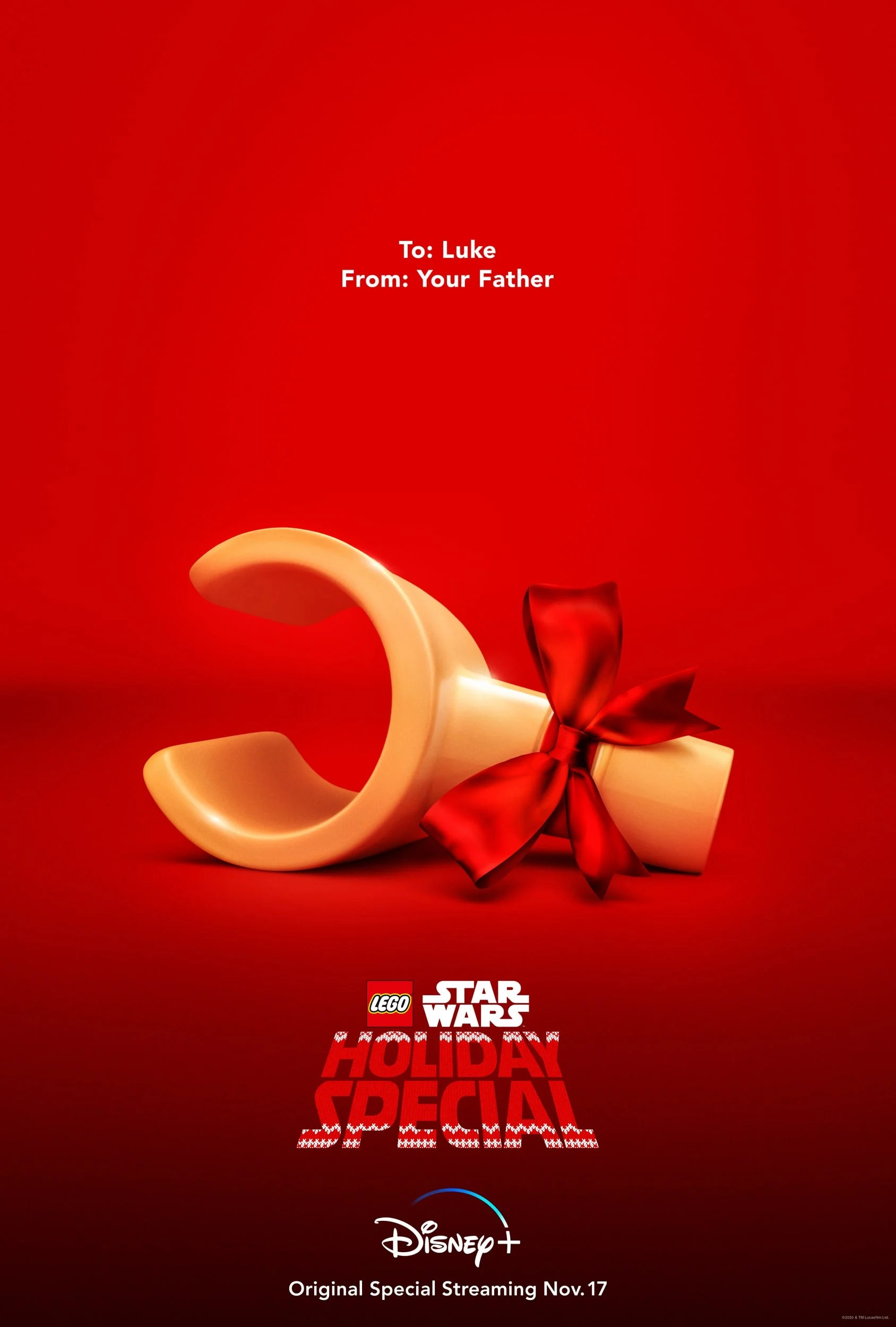 The LEGO Star Wars Holiday Special Poster. The LEGO Star Wars Holiday Special reunites Rey, Finn, Poe, Chewie, Rose, and the droids for a joyous feast on Life Day. Join BB-8 on a new adventure to gain a deeper knowledge of the Force premiering on Disney+ November 17.