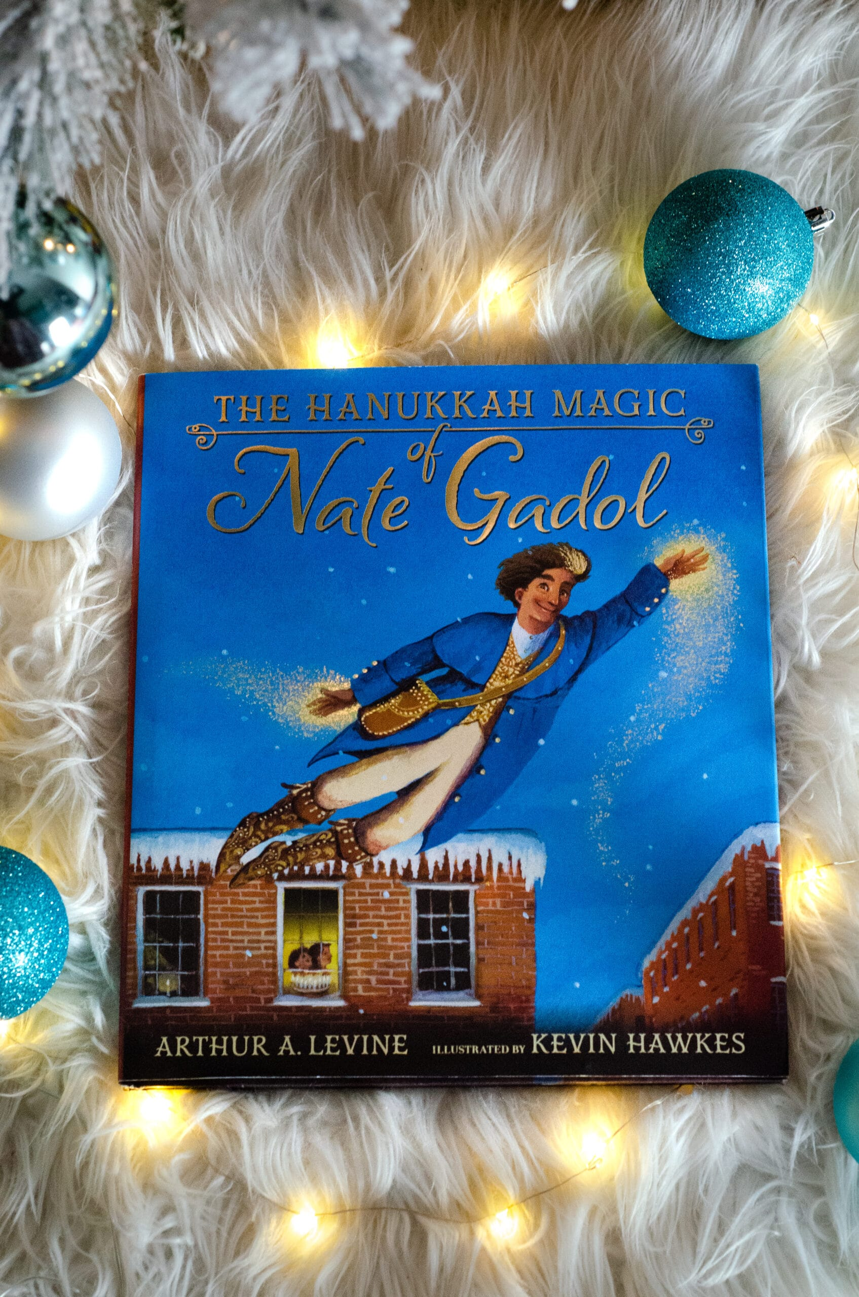 Hanukkah Magic of Nate Gadol. Give the gift of literature this holiday season! These wonderful holiday books for kids make great stocking stuffer gifts. Create your very own Christmas Tree Advent Calander using these Children's holiday books, simply stack them into a tree for a new fun holiday tradition.