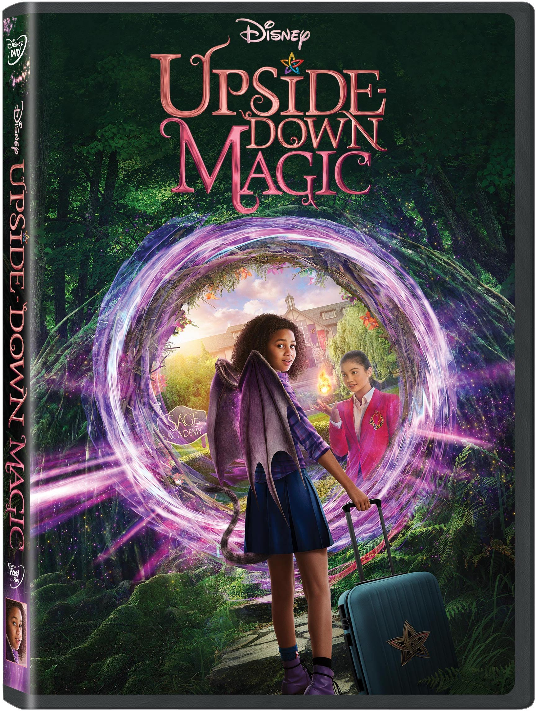 Upside Down Magic Poster. Can Nory prove that she can do magic the right side up way? An enchanting twist on a classic story of friendship and self-discovery, Disney's Upside-Down Magic is now available to own on Digital and DVD.