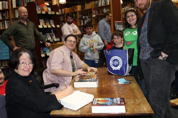 Brandon Sanderson Book Signing