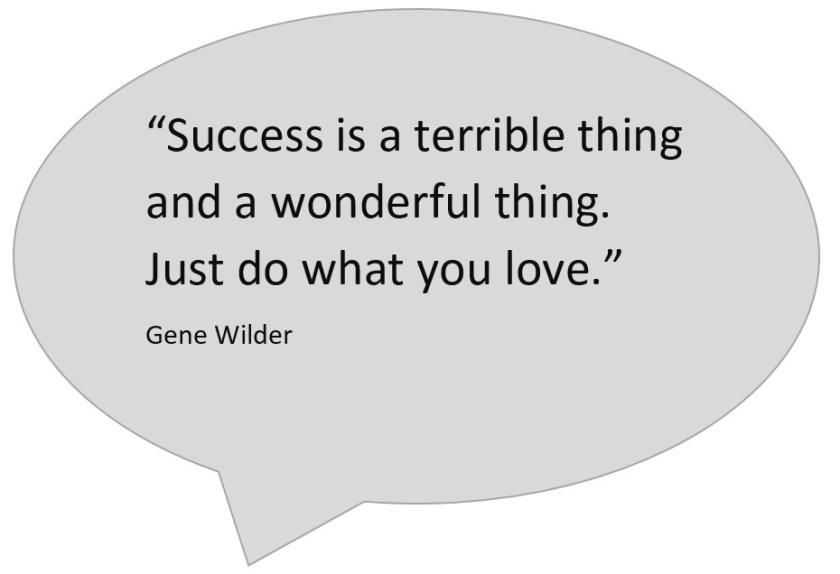 Gene Wilder: Success