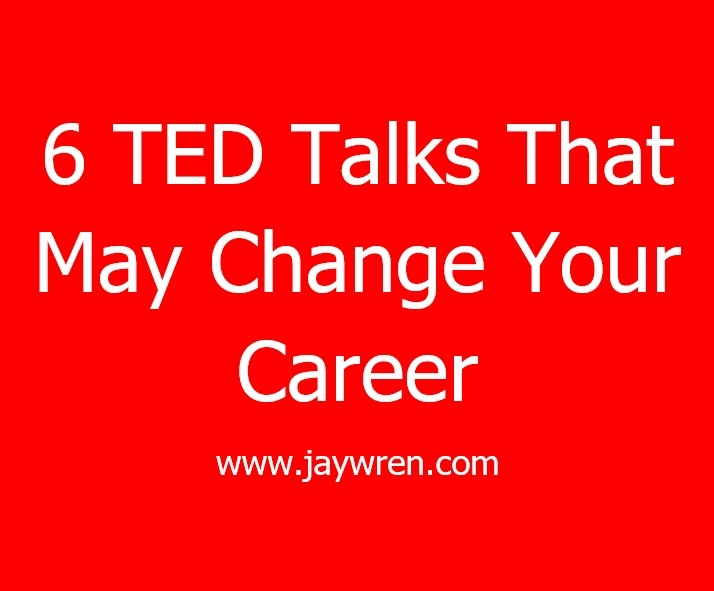 6 TED Talks That May Change Your Career