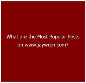 Most Popular Posts 1