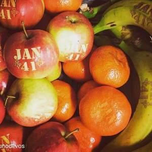 fruit graveren