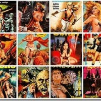Retro Italian Adult Comic Book Covers Gallery