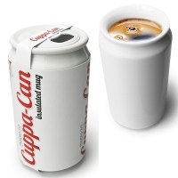 CuppaCan - Coffee Mug Shaped Like a Soda Can