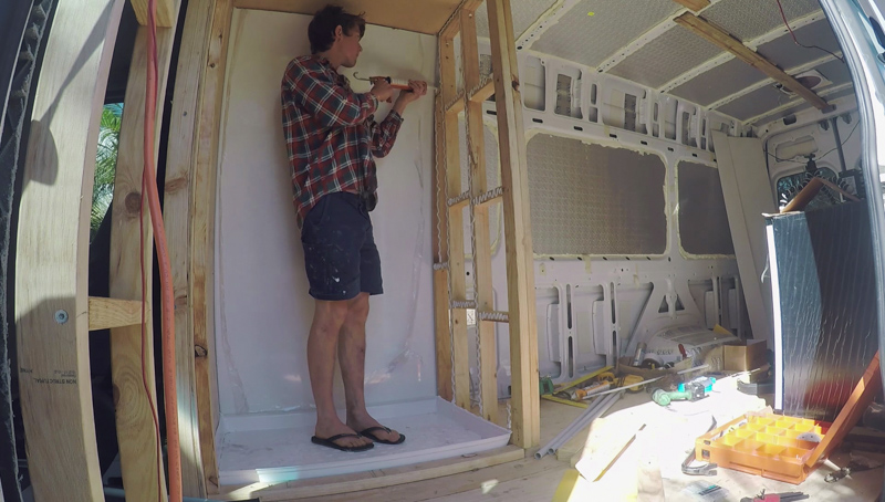 Ep.5 Shower sheeting 2