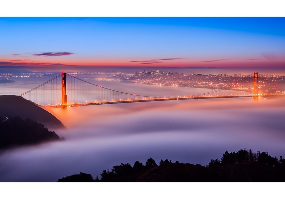 Fog at the Gate by Joe Azure.