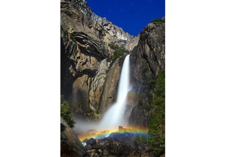 Lower Yosemite Falls by Joe Azure.