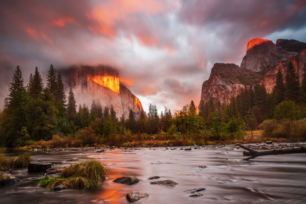 Gates of The Valley - Yosemite by Joe Azure.