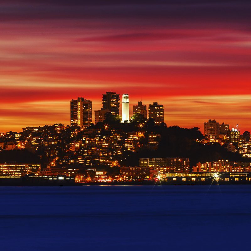 Summer Nights in San Francisco  Enjoy them while wehellip