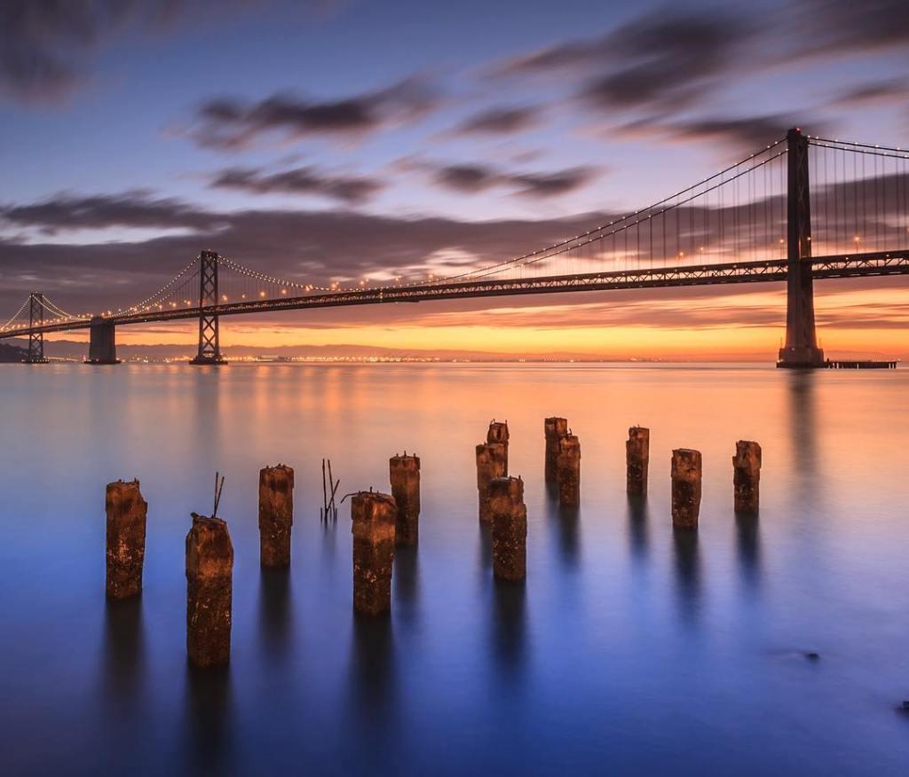 Sunrise on The Bay  San Francisco has some greathellip