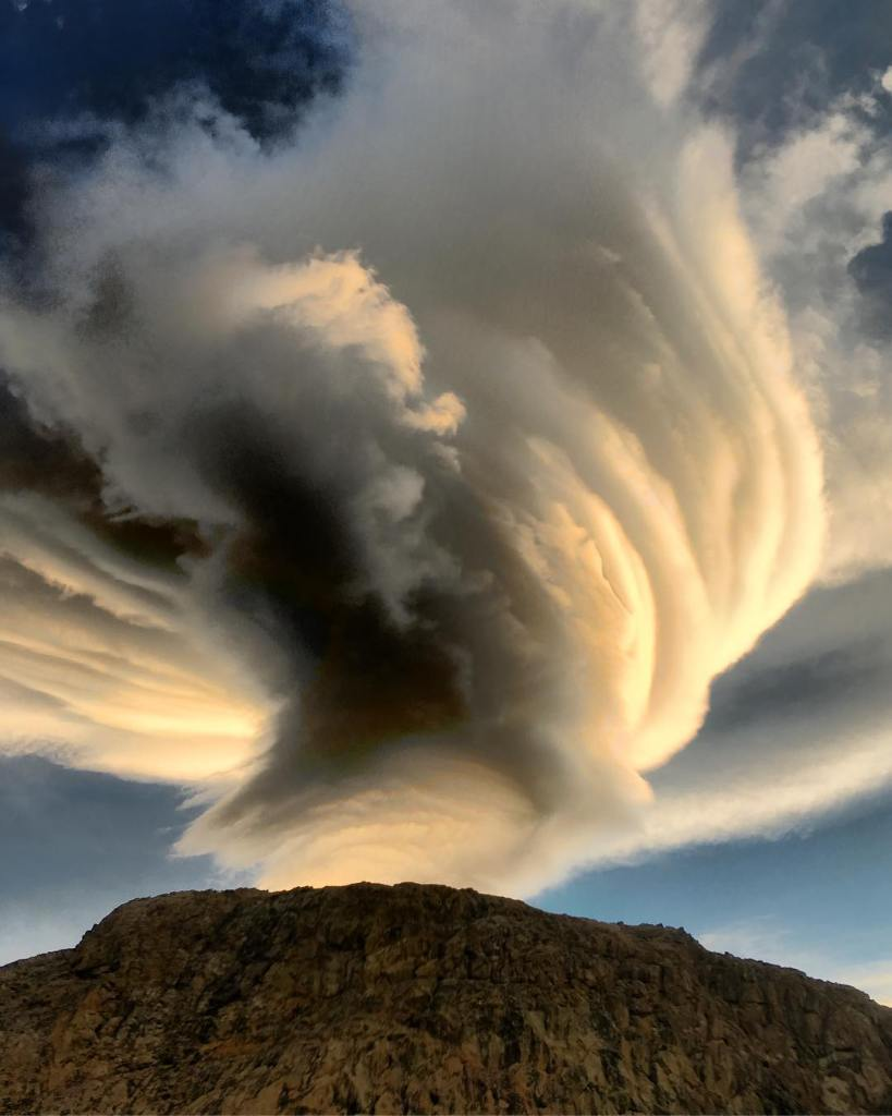 The Angry Cloud  Argentina  Patagonia  The skieshellip