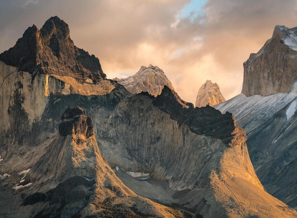 Torre del Paine  This range of mountain tops ishellip
