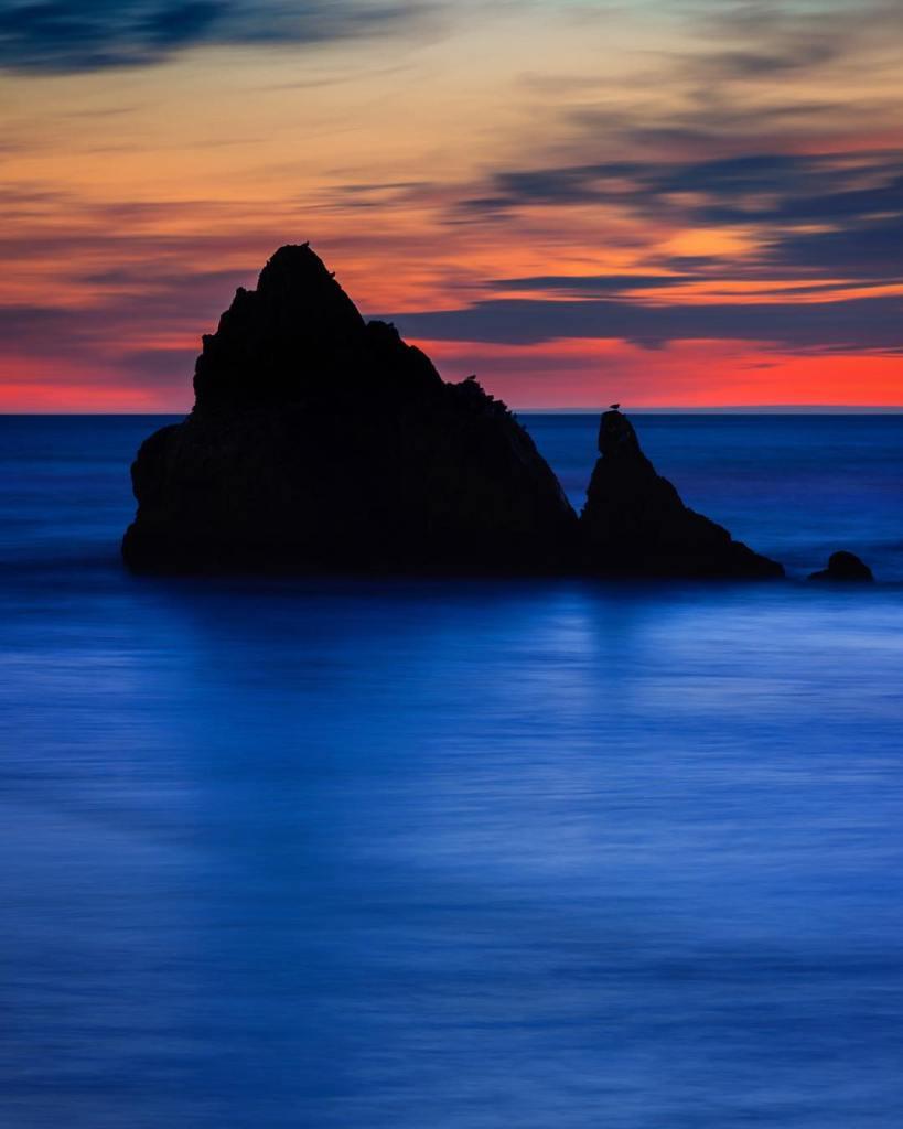 Coastal Color  I love spending a quiet sunset lookinghellip