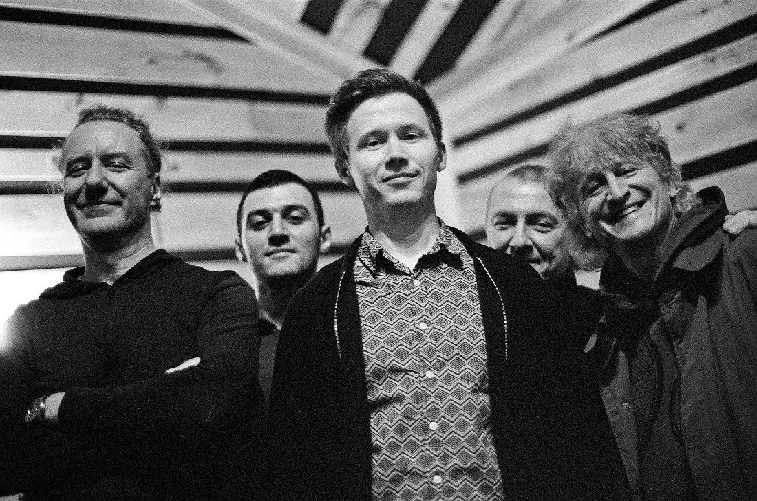 Adam Rogers, Samvel Sargsyan, Azat Bayazitov, Boris Kozlov, David Kikoski (photo © Evgeny Petrushansky)