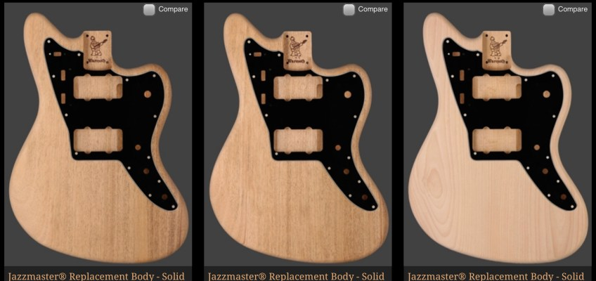Warmoth Shop in Stock