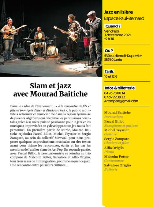 Slam Jazz Mourad Baitiche