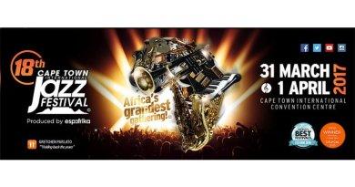 开普敦国际爵士音乐节 2017 Cape Town 18TH Int Jazz Festival