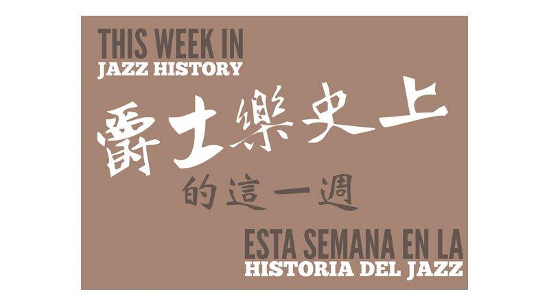 Week Jazz history Jazzespresso 2018 Week 11th Jazz Magazine
