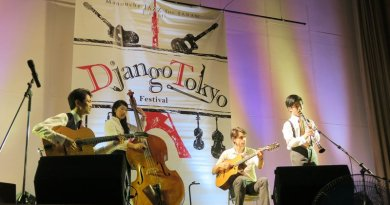 Oriental Shuffle 專訪 Django Festival Tokyo Eliza Wong Jazzespresso