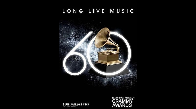 60th edition Grammy Awards 2018, New York, USA - Jazzespresso tw