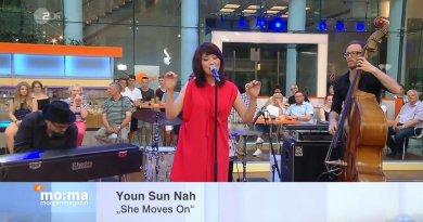 Youn Sun Nah, She Moves On, Live @ ZDF Morgenmagazin, 2017