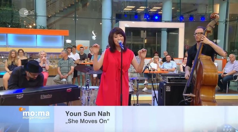 Youn Sun Nah, She Moves On, Live @ ZDF Morgenmagazin, 2017