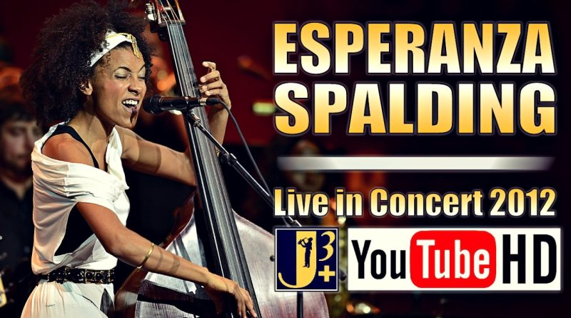 Esperanza Spalding Live 2012 Jazzespresso YouTube Video