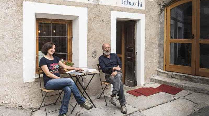 Grangia Fest Cantina Alpina Alessandra Rasetti Maurizio Zucca Interview