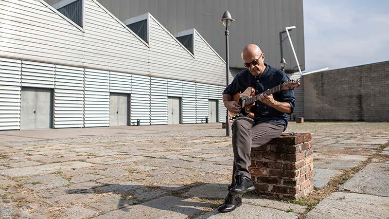 Moreno D'Onofrio Retrato Fabrizio Cirulli Jazzespresso Revista Jazz