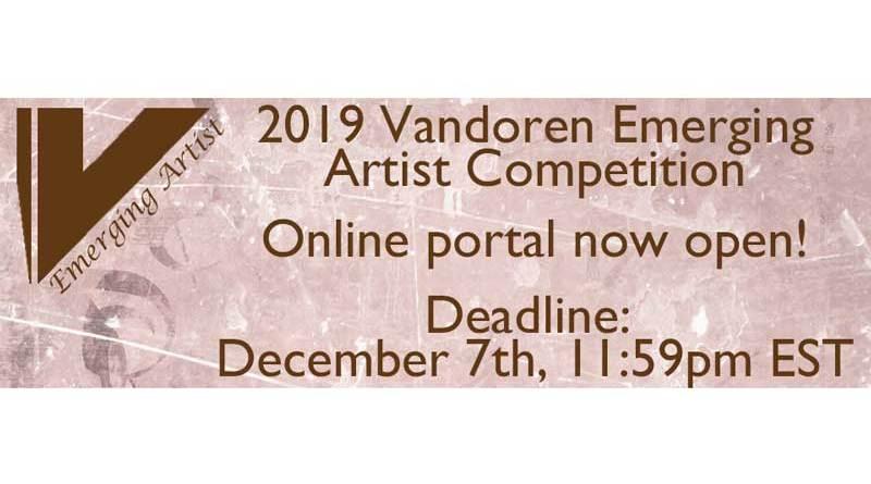 Vandoren Emerging Artist Competition 2019 Jazzespresso Revista Jazz