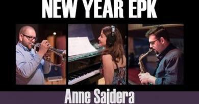 Anne Sajdera New Year YouTube Video Jazzespresso 爵士杂志