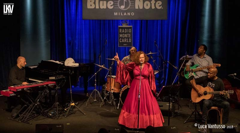 Sarah Jane Morris Blue Note Milan Reportaje Vantusso Jazzespresso Mag