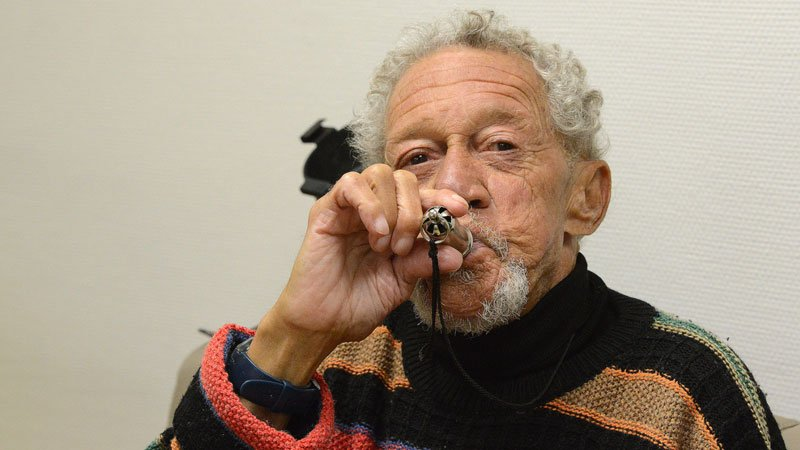 Bruno Charavet 爵士音樂人物肖像攝影 Bobby Few