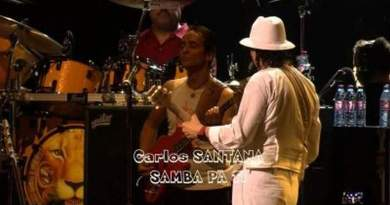 Santana Europa Samba Pa Ti YouTube Video Jazzespresso Magazine