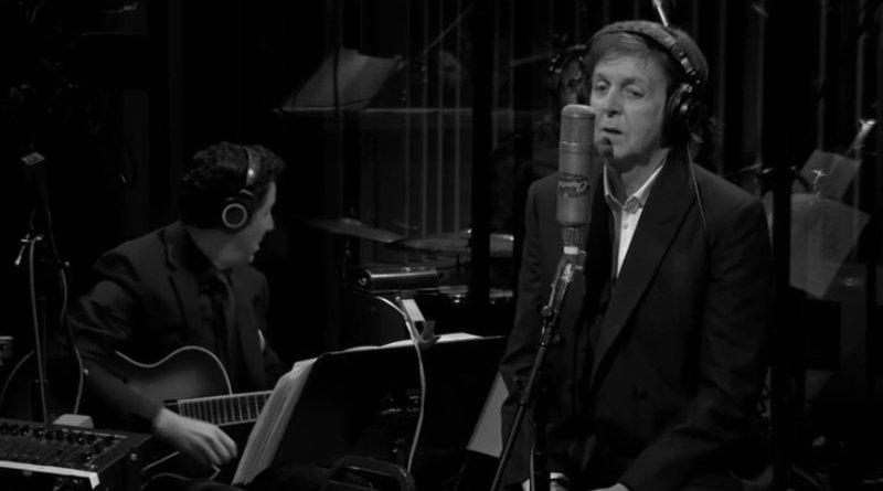 Paul McCartney Paper Moon YouTube Video Jazzespresso 爵士杂志