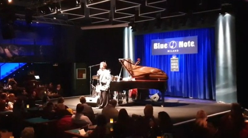 Johnny O' Neal Trio Blue Note Milano March YouTube Video Jazzespresso Revista Jazz