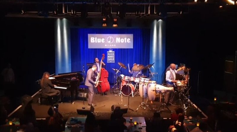 Kenny Garett Blue Note Milano 2019 YouTube Video Jazzespresso Revista
