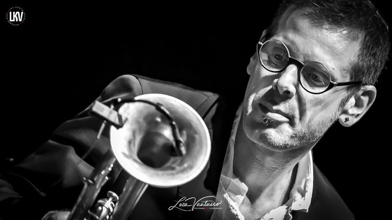 法布里佐·博索(Fabrizio Bosso) Luca Vantusso 爵士音乐人物肖像摄影