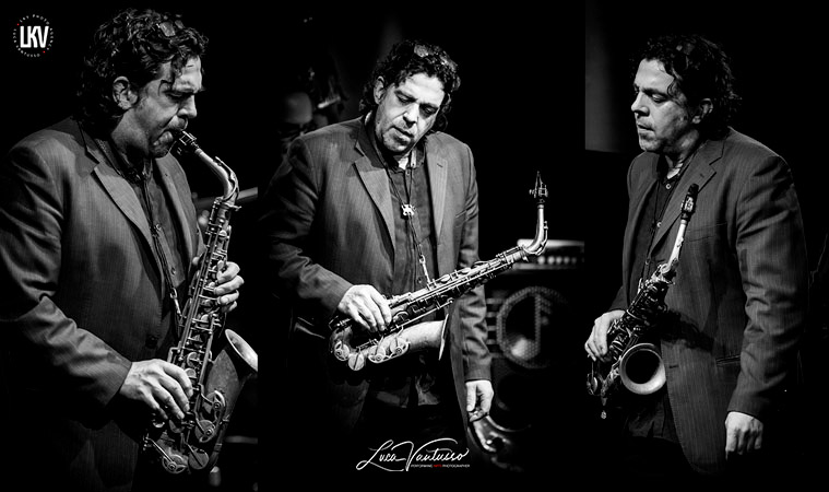 Christian Brewer 米兰 Luca Vantusso 爵士音乐人物肖像摄影
