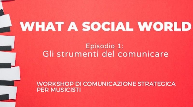 Social World Workshop Jazzespresso Jazz Magazine