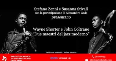Conferenza Marinelli Zenni Stivali Shorter Coltrane 2021