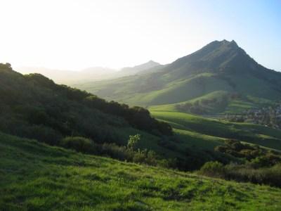 Bishop Peak from Cerro San Luis