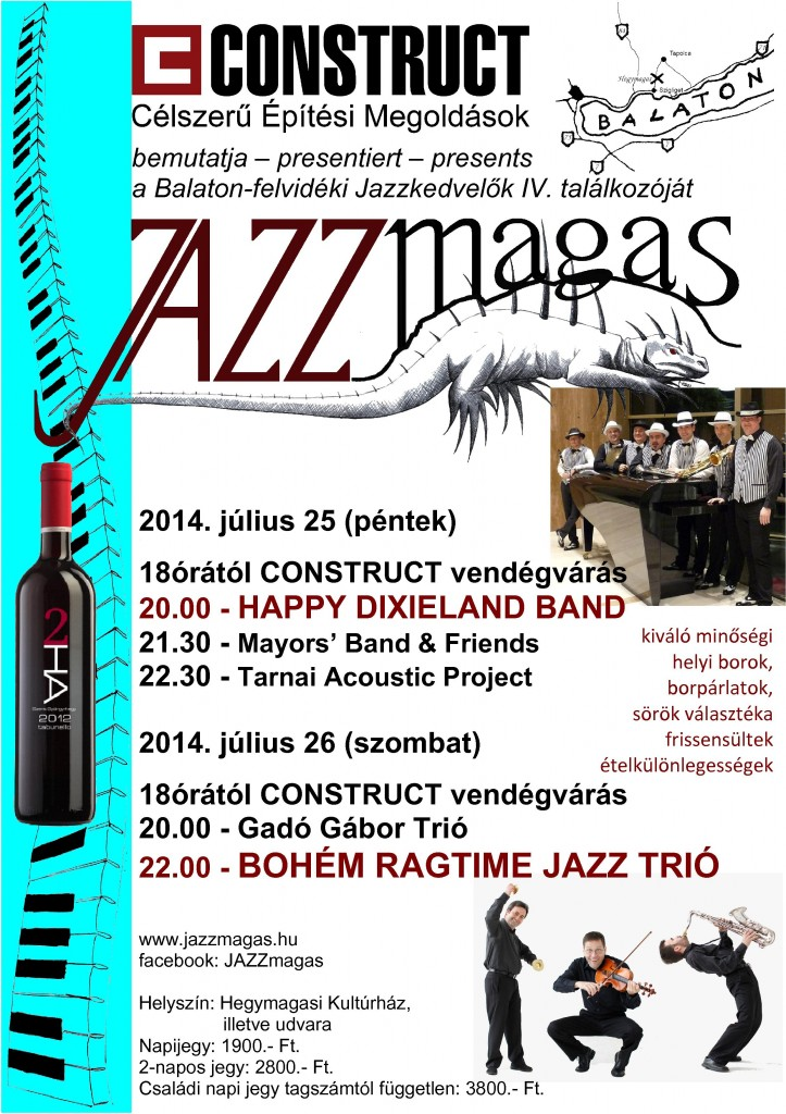 Jazzmagas 2014 Program