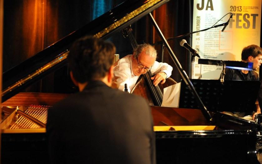 Jazzfest Berlin 2013: Riccardo Del Fra @ A-Trane: Foto: Susanne van Loon