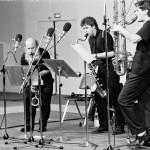Trio de clarinettes 1992. Foto: Hufner
