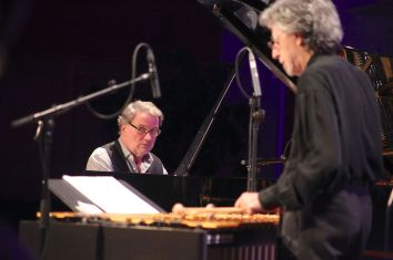 Bobo Stenson und Mike Mainierei. Foto: Ralf Dombrowski