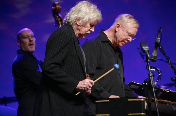 Weber spielt zusammen mit Scott Colley